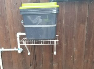 Small Greywater Distribution Filter Unit