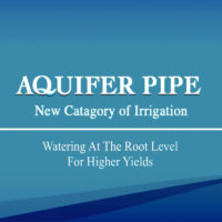 The Aquifer Pipe a new class of DIY Greywater irrigation