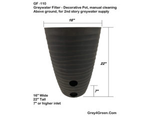 Greywater Filter Planter Manual Cleaning_Feature