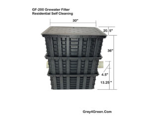 Greywater Filter Self Cleaning Residential_Feature