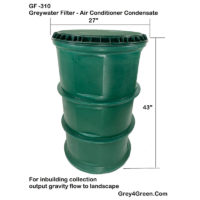 GF 310 Greywater Filter Manual Cleaning Commercial