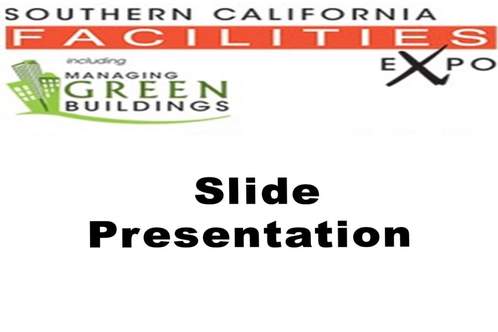 Facilities Expo 2019 Slide Presentation