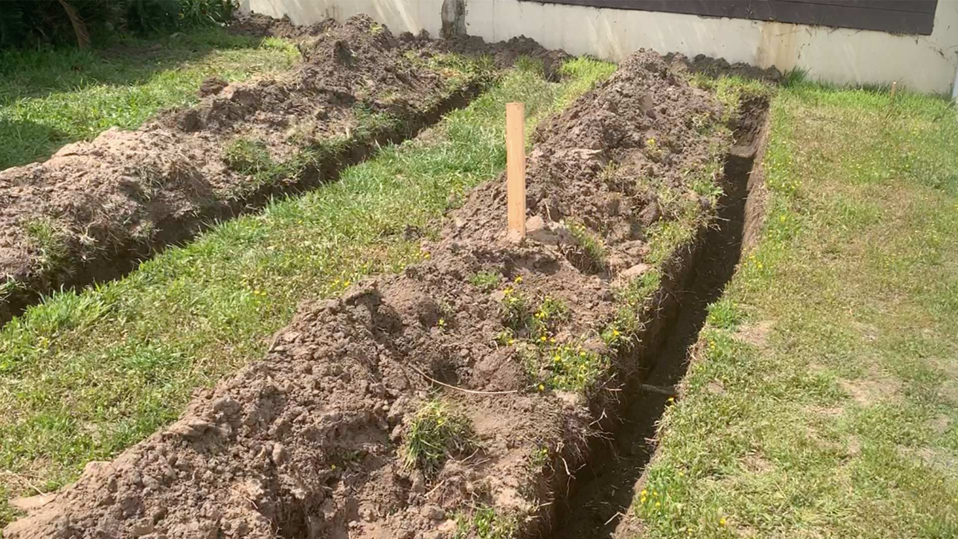 Shower To Lawn DIY Greywater System | The Before Overview