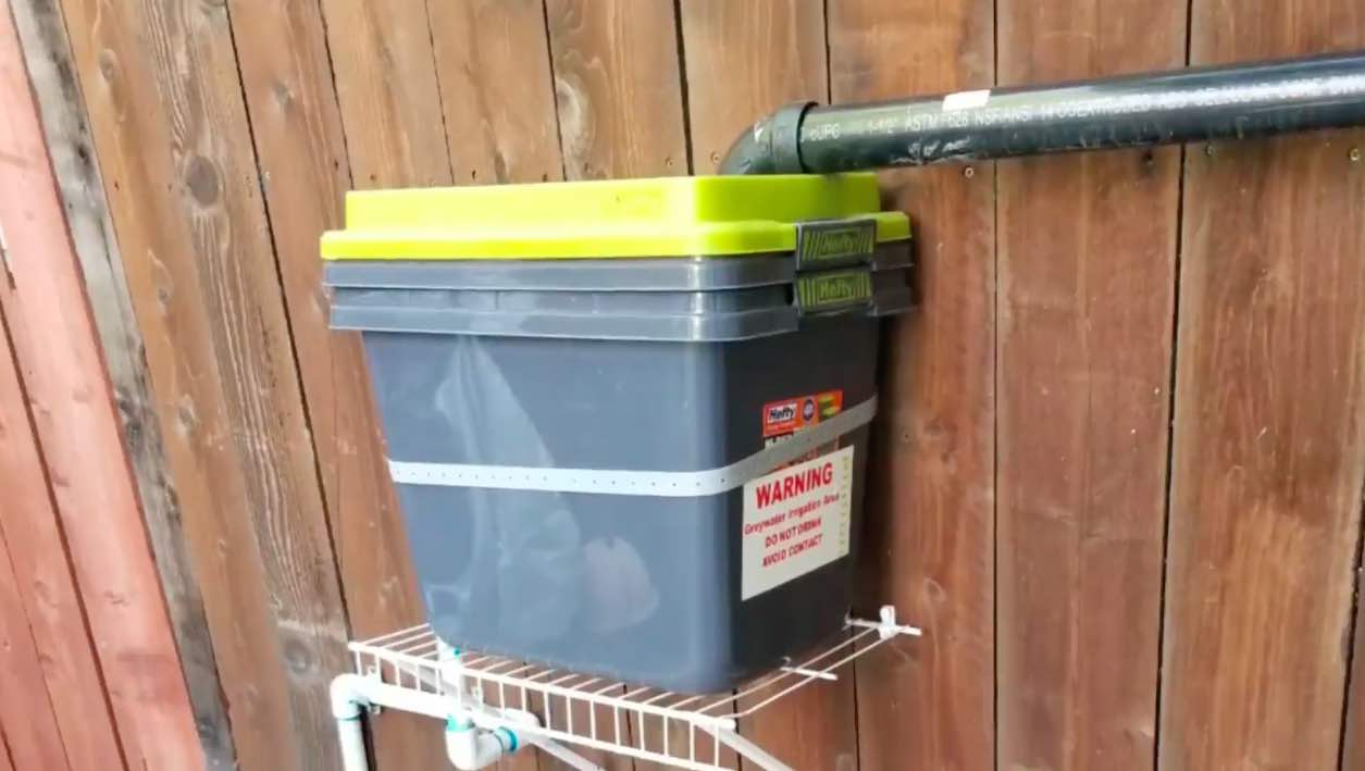 Where To Install The DIY Greywater Filter