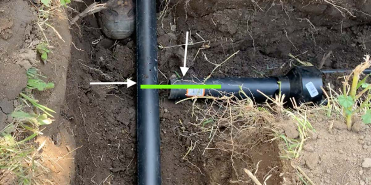 Read more about the article How To Level The DIY Greywater Aquifer Pipe To The Header