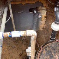 A DIY Greywater System Installed Under a Slab Foundation
